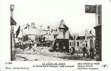 France Postcard - Le Siege De Paris - La Grande Rue A Champigny Apres  U836