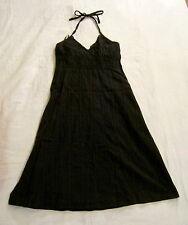 Kleid,Vero Moda,Gr. 36,schwarz,100% Baumwolle,ärmellos,im Nacken zum Binden