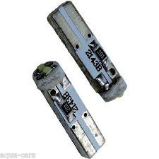 Ampoules LEDs T5 12v Blanc Can-Bus Anti Erreur Tableau De Bord - Lot De 2 -