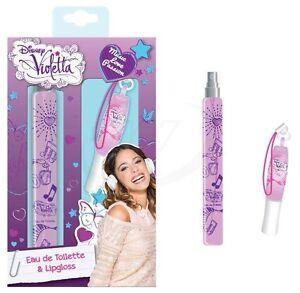 Violetta Disney 15ml Set Eau de Toilette Spray + Brillo de Labios Oferta