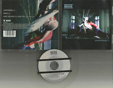 MUSE Unintended UNRELEASE & LIVE ACOUSTIC LIMITD Europe made CD single USA seler