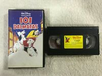 101 DALMATAS VHS CINTA TAPE WALT DISNEY LOS CLASICOS