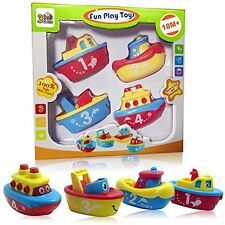 Magnet Boats For Toddlers And Older Kids - Fun And Educational 4 Boat Set