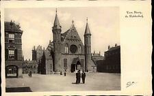 Den Haag  's-Gravenhage Niederlande s/w AK ~1940 Ridderhof Binnenhof ungelaufen