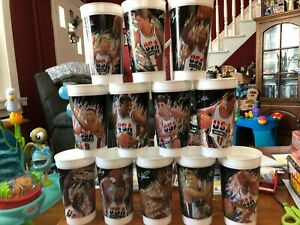 McDonald's 1992 NBA USA Olympics Cups Complete Set of 12.