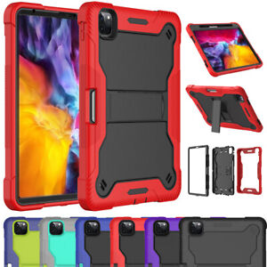 For Apple iPad Pro 11 inch 3rd Gen 2021 Case Shockproof Rugged Stand Armor Cover