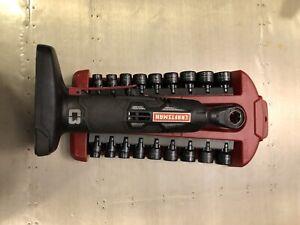 Craftsman C3 Max Auto Ratchet,19.2V plus sae +metric socket set...39558+