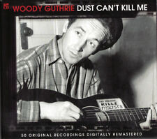 Woody Guthrie - Dust Can't Kill Me - 50 Original Recordings (2CD) NEW/SEALED