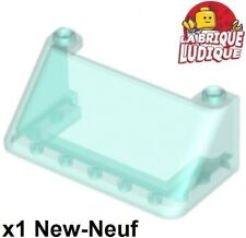 Lego - 1x Windscreen 3x6x2 Pare Windscreen Blue Trans Trans Light Blue 92583 New