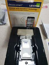 Leviton Decora Smart 600-Watt w/ HomeKit Technology Dimmer, Siri, iPhone