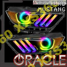 ORACLE for Ford Mustang 15-17 Headlight Halo Ring Kit & DRL COLORSHIFT DYNAMIC