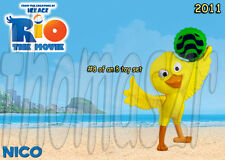 NICO bird figure/toy #8 - RIO movie - McDonald's McD / FOX (2011) *NIOP