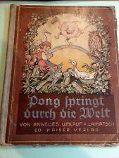 Pong springt durch die Welt von 1936 Annelies Umlauf Lamatsch