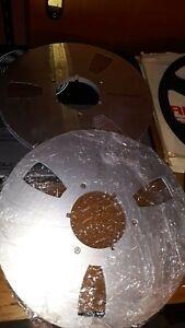 lotto di nab, bobine revox e bobine di alluminio