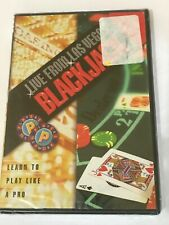 LIVE FROM VEGAS BLACKJACK DVD 2003 LEARN TO PLAY LIKE A PRO GAMBLING BRAND NEW