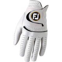 FootJoy StaSof Mens Regular Left Hand Golf Glove - Pearl 66740 - Pick a Size!
