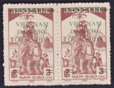 VIETNAM NORTH Sc L32 pair NG VF