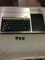 TI-99/4A Vintage Home Computer Console MISSING KEYS Untested As is