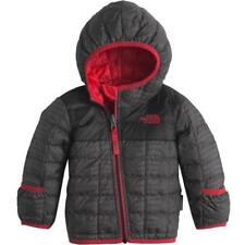 nwt THE NORTH FACE sz 3-6 m boys REVERSIBLE THERMOBALL Jacket crock print to red