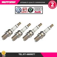 101905626A 4 Candele Vw Passat-Touran 1.4 tsi-ecofuel (MARCA ORIGINALE-VW,AUDI).