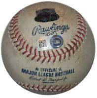 ORIOLES @ YANKEES 6/9/17 GAME USED BALL CASTRO HICKS SCHOOP HR's MONTGOMERY WINS