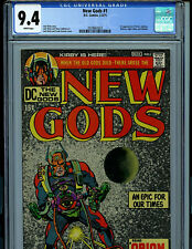 New Gods #1 CGC 9.4 NM 1971 Jack Kirby Comic 1st Orion Lightray Amricons K23