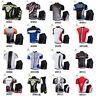 Mens Cycling Outfits Jersey Regular Shorts Kits Bike Shirt Pad Pants Set