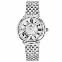 NEW Michele Serein 16 MID Diamond Dial MOP Steel MWW21B000009 Ladies Watch