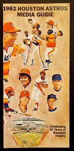 1982 MLB BASEBALL MEDIA GUIDE HOUSTON ASTROS