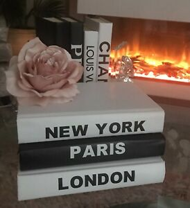 3 Decorative Books For Coffee Tables, Bookshelves/Interior Design Styling