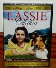 COLECCION LASSIE-LASSIE COLLECTION-PACK 3 DVD-6 LARGOMETRAJES-NUEVO-NEW-SEALED