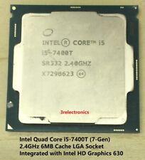 Intel Quad Core i5-7400T (7-Gen) - 2.40GHz 6M Cache CPU Processor