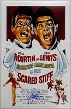JERRY LEWIS Signed SCARED STIFF Movie Poster 11x17 Photo PSA/DNA COA AUTOGRAPH