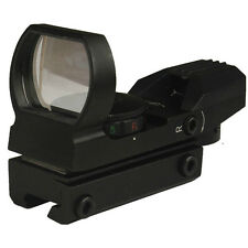 "Tactical holographic Reflex Red/Green Dot Sight 4 Reticles 3/8"" Dovetail"
