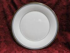 """Royal Doulton Pavanne, White w/ Black Circles: Dinner Plate (s), 10 5/8"""""""