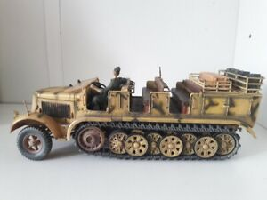 Diecast Unimax Toys Forces of Valor WWII 1944 Sdkfz7 German Half Track 1/32