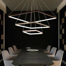 Square Modern simplicity LED Acrylic lamp creative art living room chandelier