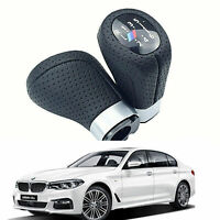 Pomello del cambio M SPORT PU Leather 6 Speed Per BMW 1 '3' E81 E82 E90 E91 E92