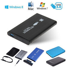 "SATA 2.5"" USB 3.0 Hard Drive Mobile External Enclosure HDD Disk Case for Laptop"