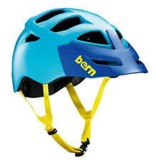 Bern Morrison BOA Breakaway Visier MTB-Helm, Fahrradhelm satin Blue