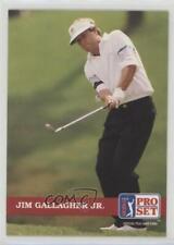1992 Pro Set Golf Jim Gallagher Jr #70