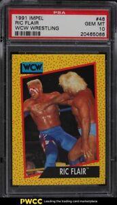 1991 Impel WCW Wrestling Ric Flair #46 PSA 10 GEM MINT