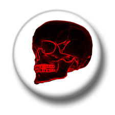 Red Skull  1 Inch / 25mm Pin Button Badge