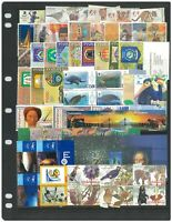 Indonesia 200 Different Stamps All In Compete Sets Mint Unhinged In Glassine Bag