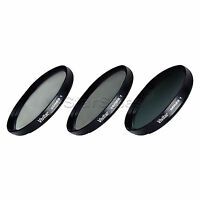 Vivitar 67mm UV CPL ND8 3 Piece Multi Coated Filter Kit