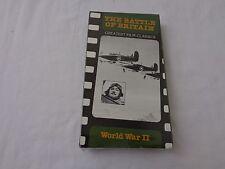 The Battle of Britain Greatest Film Classics- World War II VHS Tape--NIP