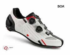CRONO CR-2 road bicycle carbon composite sole WHITE shoes US 10 EU 43.5 NEW