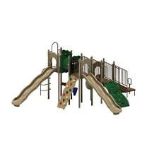 Natural Boulder Point Commercial Playground Equipment Playset with Ground Spike