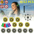 6/12 Pcs Anti Radiation Protection Stickers EMF Shield For Cell Phone Laptop TV
