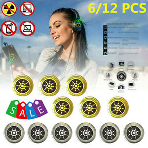 6 Pcs Anti Radiation Protection Sticker EMF Quantum Shield For Phone Laptop TV